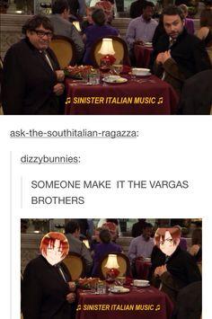 *Romano pulls tomatoe out of pocket*