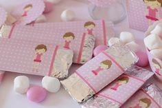 Postreadicción galletas decoradas, cupcakes y pops: ¡Nuevo kit de fiesta! Bailarinas