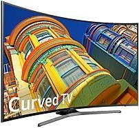 Samsung 6-Series UN65KU6500 65-inch Curved 4K UHD TV - 3840 x 2160 - 120 MR - HDMI, USB (New - Open Box) from Tech for Less at SHOP.COM