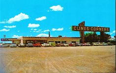CLINES CORNERS NEW MEXICO ROUTE 66 A big rest stop on your way to anywhere in civilization again