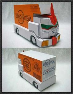 XXXG-00W0 Gundam Wing Zero Transport Truck Paper Model Free Download - http://www.papercraftsquare.com/xxxg-00w0-gundam-wing-zero-transport-truck-paper-model-free-download.html