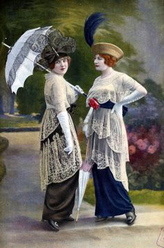 Racing ensembles by Drecoll, Les Modes August 1913.