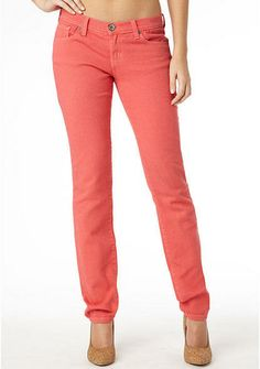 Truck Jeans Kendall Skinny Jean Coral