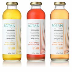 Botan Protein Water on Packaging of the World - Creative Package Design Gallery
