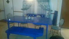 Dining room furniture purchased and designed by me