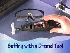 Attn: Must join site - but it looks good.  Buffing Polymer Clay Beads with a Dremel Multipro Rotary Tool