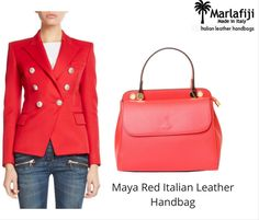 "Get into the swing of things try our latest addition MarlaFiji Maya Red Italian leather hand bag, smart, elegant, spacious and functional what more can you ask for ...shop it  Shop Now -----> https://goo.gl/1DRWJU ""FREE SHIPPING WITHIN AUSTRALIA""!! #Marlafiji #TopModel #Italian #leatherhandbags"