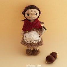 Amigurumi Kestaneci Kız Yapılışı Amigurumi Free Patterns Ücretsiz Türkçe Amigurumi Tarifi #amgurumidolls #amigurumioyuncak #örgüoyuncak #organikoyuncak #amigurumipatterns #crochet