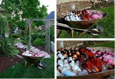great party ideas for the men-- - :)