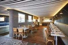restaurant banquette seating - Google Search