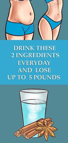 Drink These 2 Ingredients Everyday and Lose Up to 5 Pounds – Health and Remedies Weight Loss Meals, Fast Weight Loss Tips, Weight Loss Detox, Weight Loss Drinks, How To Lose Weight Fast, Loose Weight, Losing Weight, Weight Gain, Vinegar Detox Drink