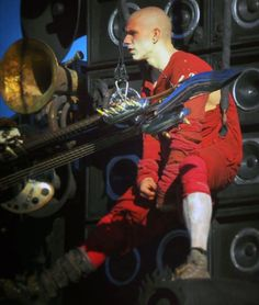 Guitarist in Mad Max Fury Road stunt performer: Ben Smith Peterson (Riley Keough's husband)