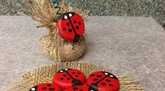 Make Lady Bugs Out of Bottle Caps (with tutorial!).