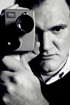Movie posters quentin tarantino portrait, written by quentin tarantin. Reservoir Dogs, Quentin Tarantino Quotes, Non Plus Ultra, Pulp Fiction Book, Acting Tips, French Films, Indie Movies, Film Review, Independent Films