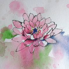 I try to keep in practice a little each day - do you? #watercolor #watercolorpainting #drawing #arteveryday