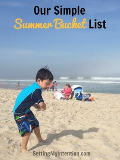 I love reading other people's summer bucket lists. I've been inspired to write my own. Simple, affordable ideas to make memories with the family this summer.