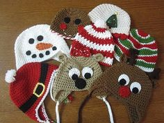 Adorable holiday hats for kids!
