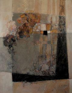 des lignes et des couleurs: V - 146x114 - huile sur toile