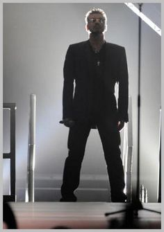 GEORGE MICHAEL-This looks like it could be from the 25Live concert. I saw it in Vegas and he was Amazing!