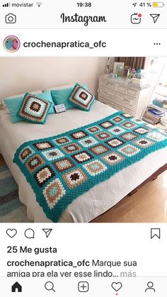 Tapestry Crochet, Table Covers, Blanket, Ikat Bedding, Crochet Necklace, Bedspreads, Quilts, Bedspreads, Houses