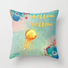 Buy Mellow Yellow by Creative Vibe as a high quality Throw Pillow. Worldwide shipping available at Society6.com.