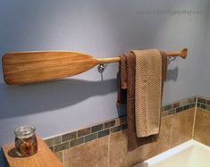 Wooden Paddle or Oar stained with Minwax Water Base Stain in choice of 4 lengths and 9 stains. There is no polyurethane on the rack. Its ready for