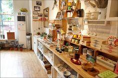 Cute zakka shop display