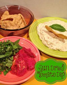 Sun Dried Tomato Dip with #GiantFlavor | The TipToe Fairy
