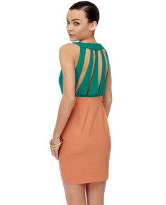 Why does Lulu's have such great dresses at such amazing prices...and this color combo = true love.