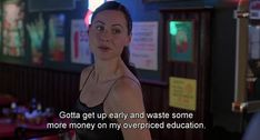 BROTHERTEDD.COM - heavenhillgirl: Good Will Hunting (1997), dir.... Minnie Driver, Good Will Hunting, Getting Up Early, Sarcasm, Education, Memes, Meme, Onderwijs, Learning