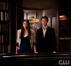 """""""Klaus"""" - Nina Dobrev as Elena Gilbert and Daniel Gillies as Elijah in THE VAMPIRE DIARIES on The CW.  Photo: Bob Mahoney/The CW  ©2011 The CW Network, LLC. All Rights Reserved."""