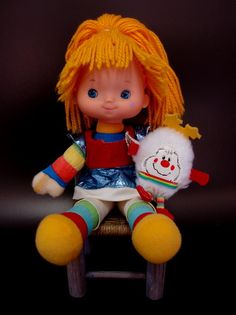 This might be a common memory amongst those of us who grew up in the 80s, but it must make my list nonetheless. I LOVED Rainbow Brite, and yes... I had this doll.