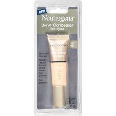 Neutrogena 3-in-1 Concealer for Eyes, Fair 05