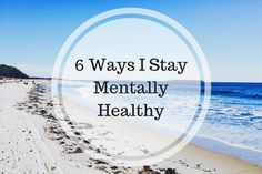 As a long term sufferer of depression, staying mentally health is very important to me. Here are just some of the ways that I do that.