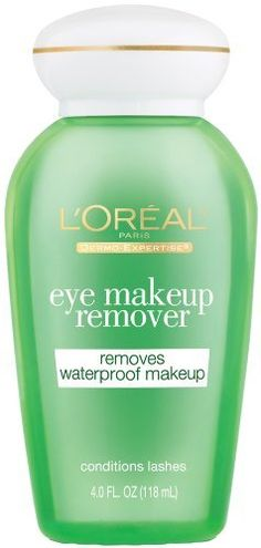 L'Oreal Paris Clean Artiste Eye Makeup Remover, Waterproof, Ounce: Double-action formula gently and easily removes waterproof and long wearing makeup Leaves a luxuriously soft, fresh sensation with no greasy residue Makeup Tips, Eye Makeup, Best Makeup Remover, Waterproof Makeup, L'oréal Paris, Loreal, Lashes, Conditioner, How To Remove