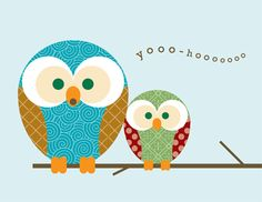 Owl freebie note cards by MyOwlBarn, via Flickr