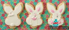 use bunny face cutter to make cute full-bodied bunnies| Klickitat Street