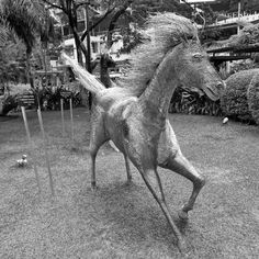 Horse figure at the Greenbelt Malls in Makati (2013) - Photo taken by BradJill