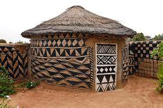 Burkina Faso: Traditional House in Tiebele