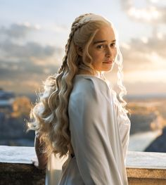 Emilia Clarke as Daenerys Targaryen in Game of Thrones (TV Series, 2015). [x]