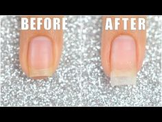 How To Extend Your Short Nail Using Dip Powder || LIFEISNAILS - YouTube