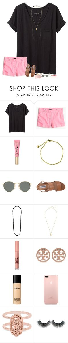 """i get braces next week..."" by hopemarlee ❤ liked on Polyvore featuring rag & bone/JEAN, J.Crew, Cartier, Ray-Ban, Steve Madden, Dorothy Perkins, Estella Bartlett, Too Faced Cosmetics, Tory Burch and Bare Escentuals"