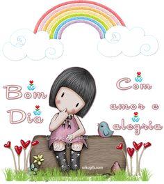 Bom Dia com amor e alegria