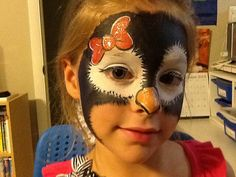 Face Painting - Penguin