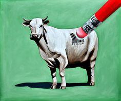 little vegan art... | Once Upon a Vegan | Pinterest