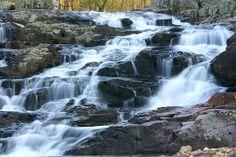 """Rocky Falls"", Southern Missouri Ozarks, just east of Emminence Missouri"