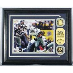 Emmitt Smith All Time Rushing Record Photomint limited to 2222