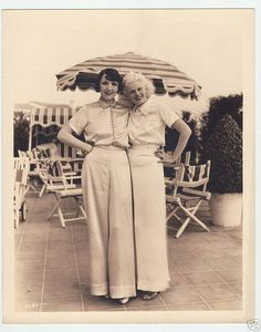 Jean Harlow & A Friend