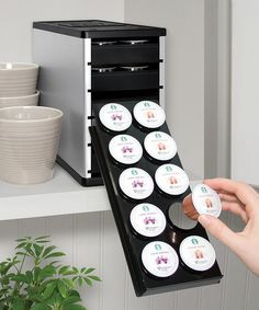 Another great find on #zulily! Silver PodStack Single-Serve Coffee Pod Organizer by YouCopia #zulilyfinds