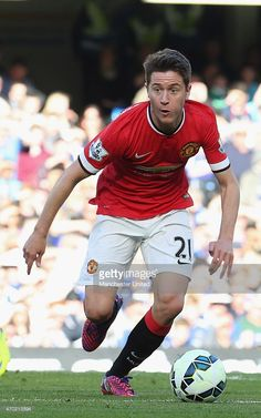 Ander Herrera of Manchester United in action
